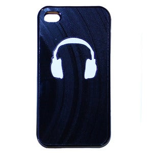 Image of iPhone 4/4S/5 Case - Headphones
