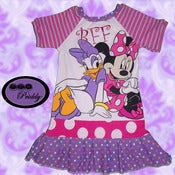 Image of **SOLD OUT** Minnie Mouse & Daisy Duck BFF Dress - Size 5T/6