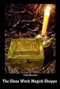 Image of Large Triple Moon Goddess Box for Everything Magick (EF)