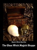 Image of Candle Skull Witches Box Set: Black & White Skulls (EF)