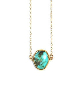 Image of Turquoise Gemstone Necklace