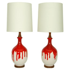 Image of The Aster Twins - Restyled Vintage Table Lamps
