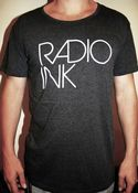 Image of Mens Radio INK Scoop Neck T-shirt