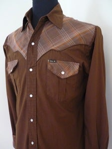 Image of Bar-M Rancher western-cut cowboy shirt