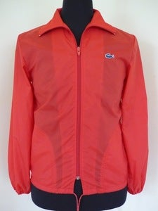 Image of Lacoste red windbreaker