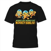 Image of Monkey See Monkey Do Monkey Kung Fu Shirt