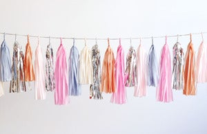 Image of NEW Tassel Garland-Powder