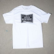 Image of White Speed Shield T-Shirt