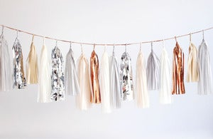 Image of Tassel Garland- Neutrals