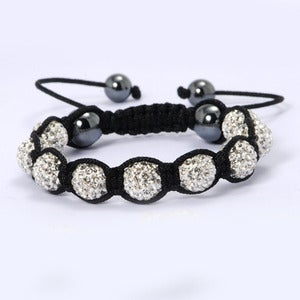 Image of Swarovski Crystal Elements Disco Ball, Cubic Zirconia bracelet