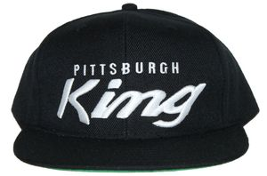 Image of Pittsburgh King wh/blk snapback