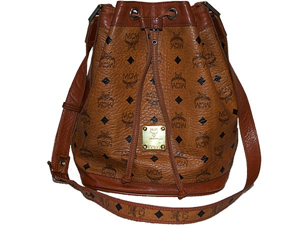 Image of Rare Vintage MCM Womens satchel designed by founder Michael Cromer