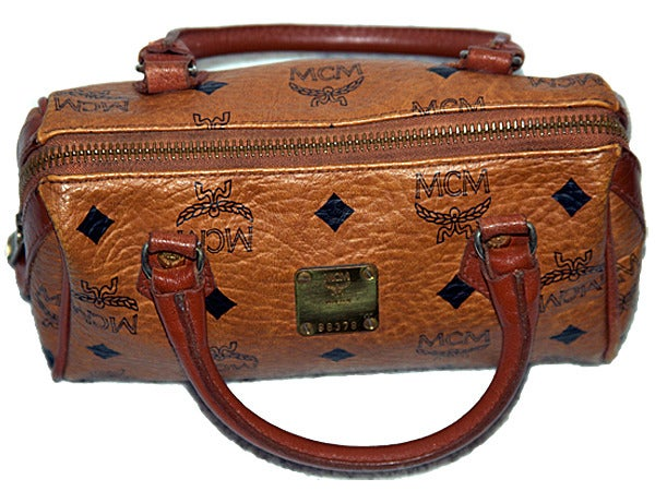 Image of Rare Vintage MCM Womens handbag designed by founder Michael Cromer