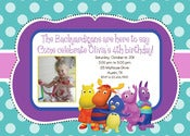 Image of Backyardigans Invitation