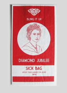 Image of Jubilee Sick Bag Red