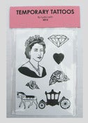 Image of Jubilee Temporary Tattoos Pink Pack