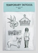 Image of Jubilee Temporary Tattoos Blue Pack