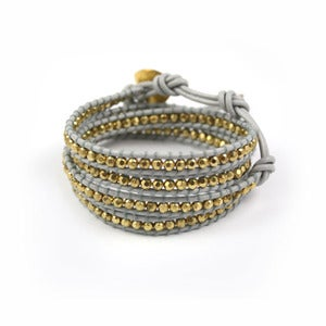 Image of EUPHORIA Leather Wrap Bracelet