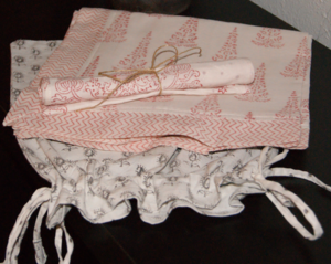 Image of POTLI Drawstring gift bag