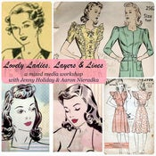 Image of Lovely Ladies, Layers, & Lines  workshop/kit