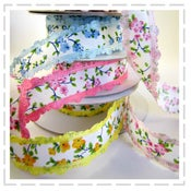 Image of Beautiful Floral Ribbons