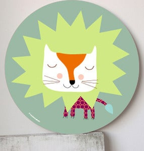 Image of Cuadro infantil Leoncio-wall art