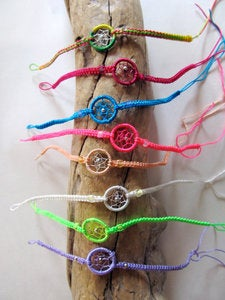 Image of Dream Catcher Friendship Bracelet