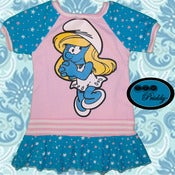 Image of ** SOLD OUT** Smurfette Smurf-Priddy Dress - Size 2T