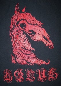 Image of Horse Skull shirt #2