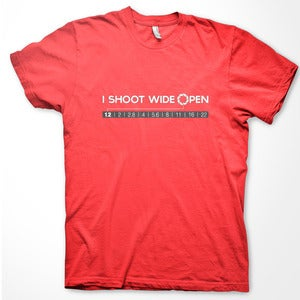 Image of I Shoot Wide Open T-Shirt