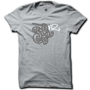 Image of Womens Roots Tee - Silver