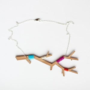 Image of Branch Necklace in Bamboo