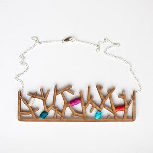 Image of Forest Necklace in Bamboo