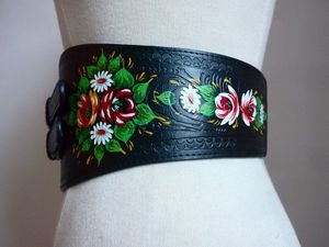 Image of OMARINA Gypsy Biker BELT