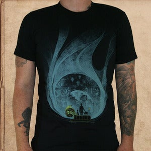 Image of Time Machine - black - discharge ink - unisex 