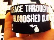 Image of Custom Grace Through Bloodshed Clothing Wristband