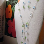 Image of Ocean Breeze Swarovski Necklace
