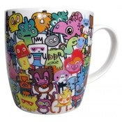 Image of DOODLE MUG BY JON BURGERMAN