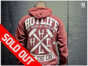 Image of *SOLD OUT* HOTLIFE - &quot;WE'RE THE CREW ZIP UP&quot; HOODIE