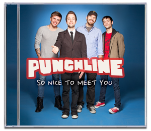 Image of PUNCHLINE<br><i>So Nice To Meet You</i><br>CD [ltd. 1000]