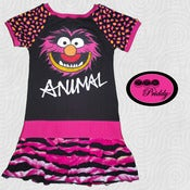 Image of Animal The Muppets Dress - Size 7/8