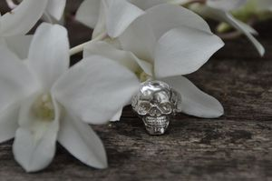 Image of Rider Skull Ring Womens