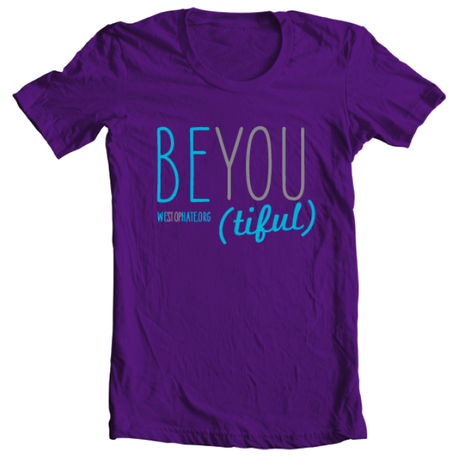 Image of Be You (tiful) - Purple [Ladies Junior Fit]