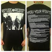Image of Refuse - Resist - Know your rights