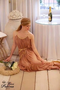 Image of &quot;Aphrodite, Dont Forget Me&quot; Dress (Tan)