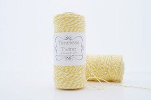 Image of Lemonade Yellow Bakers Twine by Timeless Twine™