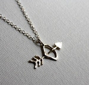 Image of Bow and Arrow Necklace
