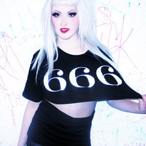Image of 666 CROP TOP