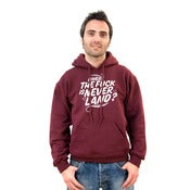 Image of SweatShirt Bordeaux and White (Old price 40)