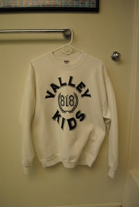 Image of Valley Kids Crewneck White